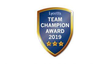 Team Champion Awards 2019